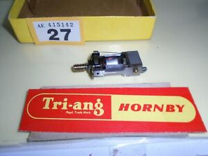 TRIANG /HORNBY X-04  MOTOR  WITH BRASS WORM DRIVE   Y/27