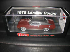 1/43 ACE 1975 FORD LANDAU COUPE PORT WINE LIMITED EDITION OF JUST 75   AWESOME