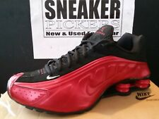 Nike Shox R4 - Varsity Red / Black - White - 104265 600 - Mens 10.5 / Womens 12