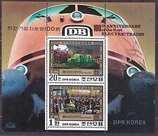 KOREA Pn. 1980 MNH** SC#2005a Sheet, Electric Train Centenary - Berlin 1879.