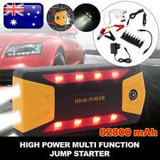 82800mAh Car Jump Starter 4 USB Power Bank Portable Pack Booster Battery Charger