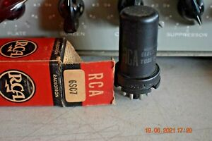 Vacuum Tubes RCA 6SC7 METAL TUBE - TESTED - NEW OLD STOCK - FREE USA SHIPPING