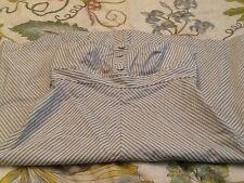 Gap Size 8 Grey & White Striped Dressy Strapless Dress New With Tags!!