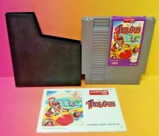 Disney TaleSpin + Manual + Dust Cover - Nintendo NES Game Rare Tested Authentic