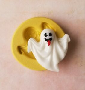 Ghost silicone mold for chocolate fondant polymer clay Halloween mold