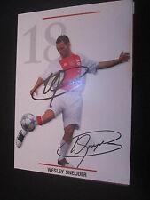 26390 Wesley Sneijder Ajax Amsterdam original signierte Autogrammkarte
