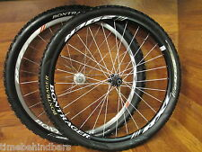 BONTRAGER RXL SCANDIUM 29ER CENTER LOCK DISC 9 MM QUICK RELEASE WHEEL SET TIRES