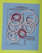1976 Williams Grand Prix pinball rubber ring kit