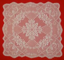 Filet crochet pattern doily tablecloth chart houseware square PDF Free Shipping