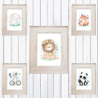 Sweet Jungle Animals  Nursery Room Decor, Kids Wall Prints,