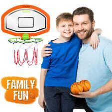 Kids Sports Mini Basketball Backboard Hoop Net Set Indoor Outdoor Toy W/ Balls