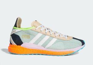 Mens Adidas x Pharrell Tokio Solar Hu Teal S42576