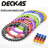 DECKAS 96BCD-S  Bicycle MTB Chainring Round Oval Narrow Wide Chainwheel 32-38t