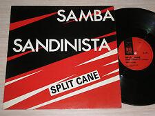 "SPLIT CANE . SAMBA SANDINISTA - MAXI-SINGLE 12"" ENGLAND"