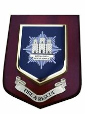 SUFFOLK FIRE AND RESCUE SERVICE WALL PLAQUE