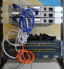 Cisco CCENT, CCNA, CCNP 3x 1841 IOS 15.1,256D/64F 1x 3550  2x2950