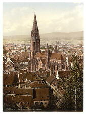 Los Munster Friburgo Baden A4 Foto Impresión