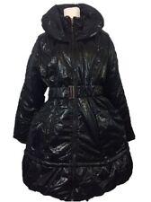 Ivko Weste Coat Kapuze  V-Ausschnitt Wolle Peridot Knöpfe 100 cm 82601 S-44 sale