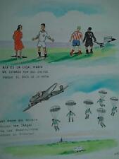 año '50 Domingo Wasaldua Villalba, Tropezones dice No hay Avion que Resista....