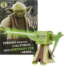 STAR WARS BUILD YOUR OWN YODA BIRTHDAY CARD NEW GIFT