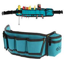 Multi-Pockets Waist Slot Screwdriver Carry Case Utility Belt Organizer Tool Bag