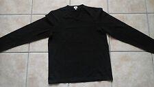 Tshirt uomo Calvin Klein XL nera manica lunga