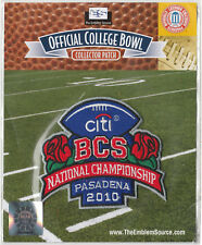 2010 BCS CHAMPIONSHIP NCAA COLLEGE FOOTBALL OFFICIAL PATCH MINT IN PACK ALABAMA