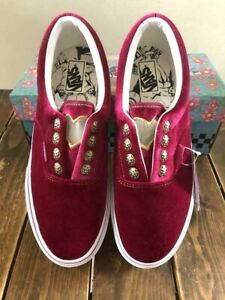 Jojo's Bizarre Adventure Wind × VANS Giorno Giovanna Ltd Shoes US5.5 Size FedEx