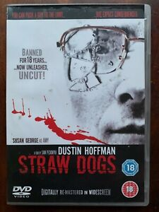 Straw Dogs DVD 1971 Peckinpah Cult Movie Classic w/ Dustin Hoffman Susan George