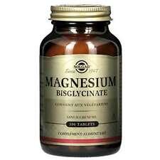Magnésium bisglycinate 100 comprimés Solgar