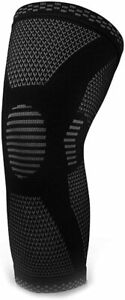 Knee Compression Sleeve Gym Sport Leg Brace Support Joint Pain Relief Running