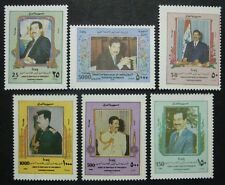 IRAK IRAQ 1999 Geburtstag Saddam Hussein Präsident 1596-1601 ** MNH