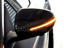 Mercedes BENZ W205 W213 W222 X253 CARBON FIBER Mirror Cover LHD W/LIGHT