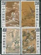 CHINA ROC Taiwan Scott# 1479-1482 ** MNH Pintura 1966