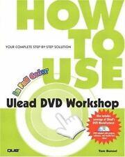Ulead DVD Workshop Tom Bunzel 2002 Paperback with NEW DVD How 2 Make & Edit DVDs