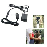 1.5m Dummy Battery Pack DC Coupler Power Cord Supply Kit For SONY Cameras