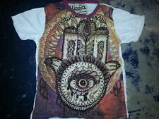 Yoga Men T Shirt Palm Buddha Love Hindu Ganesha Thailand Cotton m New weed Sure
