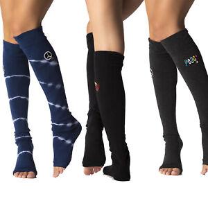 ToeSox Leg Warmers Dancewear Yoga Socks Scrunch Down or Over the Knee NEW