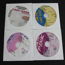 KARAOKE CD+G 4 Disc QUIK HITS LADY GAGA,KATY PERRY,PINK, NEW IN SLEEVES
