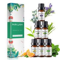 Huile Essentielle pour Diffuseurs, Kit Aromathérapie Aroma pour 6 parfums, 60 ml