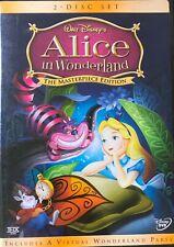 Walt Disney ALICE IN WONDERLAND Masterpiece Edition 2-DVD Set + Mickey Mouse
