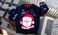 CHRISTMAS TOP New Next 3-6 6-9 9-12 months Xmas Baby BNWT Girls Boys Jumper