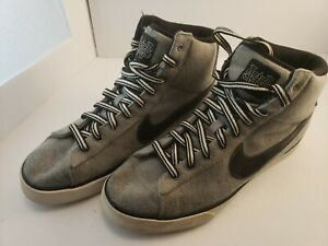 Nike Sweet Classic High Textile Mens Casual Shoe 416169024 Size 11 Stealth Black