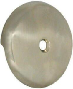 Danco Brushed Nickel Bath Drain Overflow Plate w/screw #89235