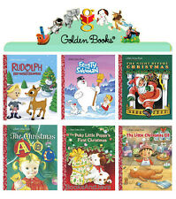 LITTLE GOLDEN CLASSIC CHRISTMAS Rudolph,Frosty,Night Before,ABC,Poky Puppy,Elf