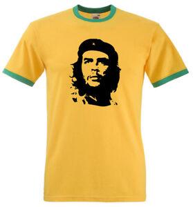 Che Guevara T Shirt  - Classic retro FOTL Ringer Tee