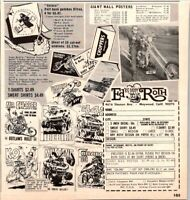 Ed Big Daddy Roth Offer T-Shirts PIG Poster Decals 1967 Vintage Print Ad