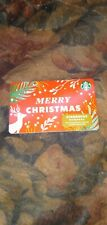 Starbucks * Used Collectible - Gift Card w/Sticker No Value * Sbx21-455888