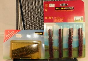 (2) Faller #181399/181359 Set of Hedges N/HO/TT Scale