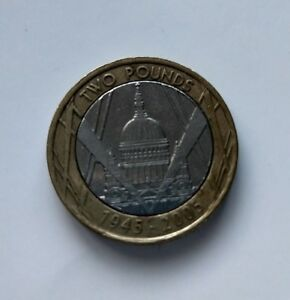 St Pauls Cathedral 2 pound coin